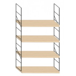 Wall mounted shelf - 64cmx100cm height
