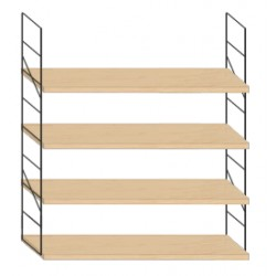 Wall mounted shelf - 94cm x 100cm height