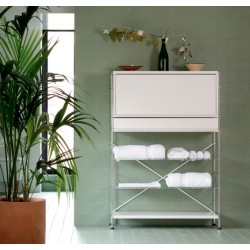 Bathroom shelves - 94x36x135 cm. height