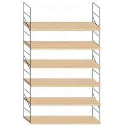 Wall mounted shelf - 94cm x 150cm height