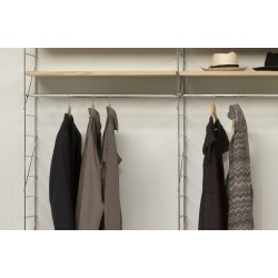 Clothes hanger for shelves - 36cm
